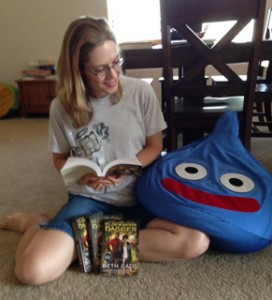 Reading to Big Blue