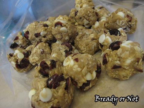 White Choc Cranberry Cookies