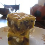 Choc Chip Pumpkin Shortbread
