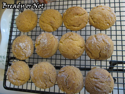 Pumpkin Pudding Mix Snickerdoodle Cookies