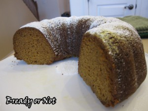 Pumpkin and Pudding Mix Bundt Cake