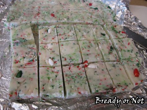 Cake Mix White Choc Fudge