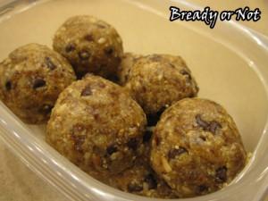 Cookie Dough Breakfast Bites