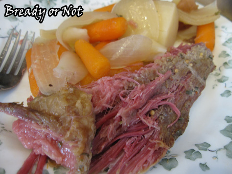 Bready or Not: Crock Pot Corned Beef
