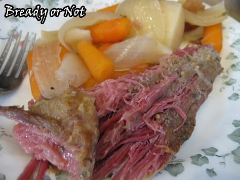 Bready or Not: Crock Pot Corned Beef
