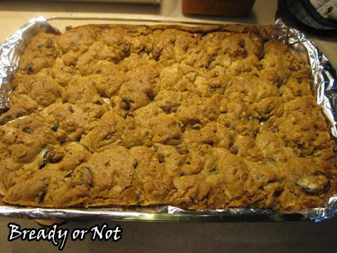 Oreo Chocolate Chip Caramel Cookie Bars