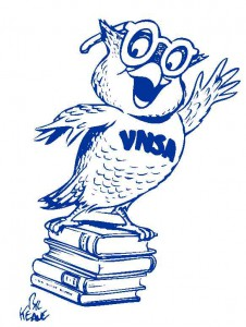 VNSA Owl Logos Blue