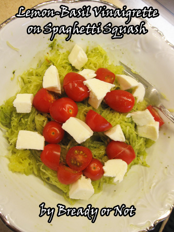 recipe: basil dressing for caprese salad [32]
