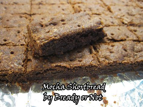 Mocha Shortbread