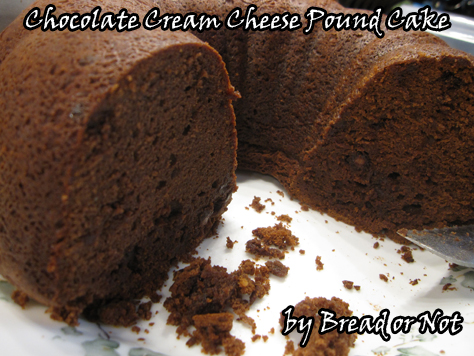 Bready Or Not Chocolate Cream Cheese Pound Cake Bethcato Com