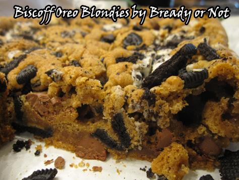 Biscoff Oreo Blondies