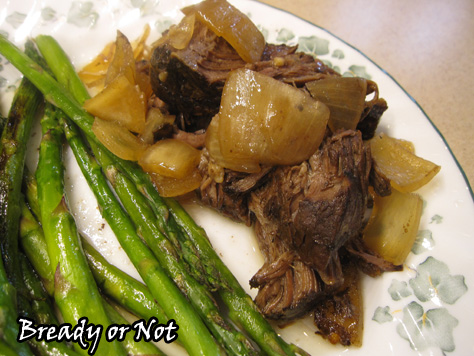 Crock Pot Balsamic Shredded Beef