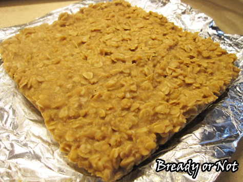 No Bake Maple PB Oat Bars