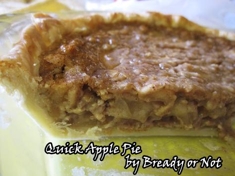 Quick Apple Pie