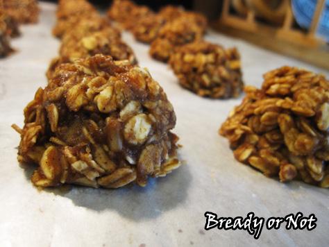 Healthy No Bake Maple Cookies