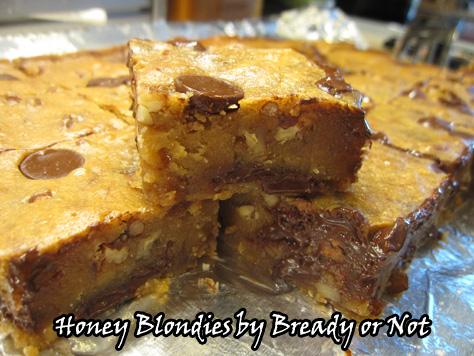 Honey Blondies