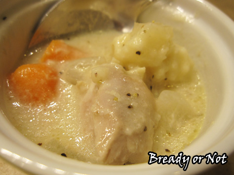 Bready or Not: Slow Cooker Chicken and Dumplings from scratch
