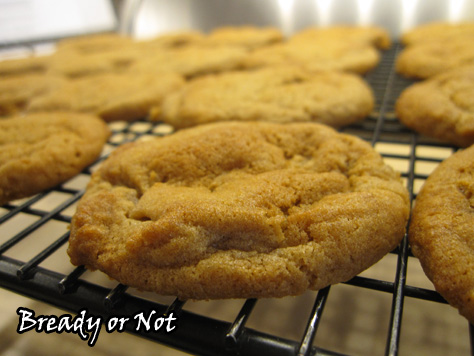 Chewy Honey Maple Cookies
