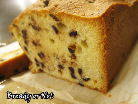 Bready or Not: Baileys Chocolate Chip Pound Cake