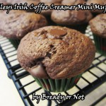 Bready or Not: Baileys Irish Coffee Creamer Chocolate Mini Muffins