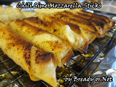 Bready or Not: Chili Lime Mozzarella Sticks