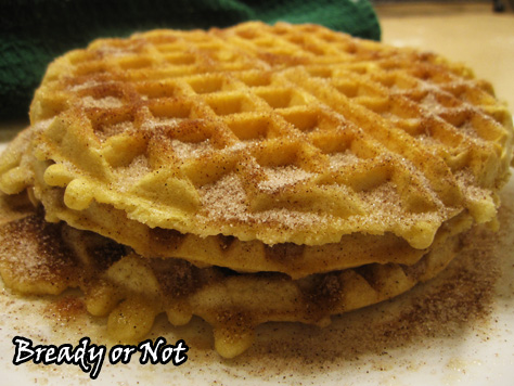 Bready or Not: Churro Waffles
