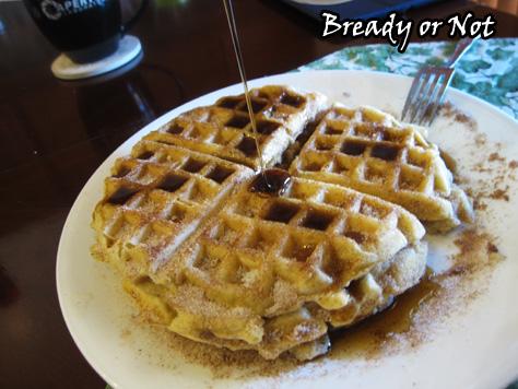 Bready or Not: Churro Waffles