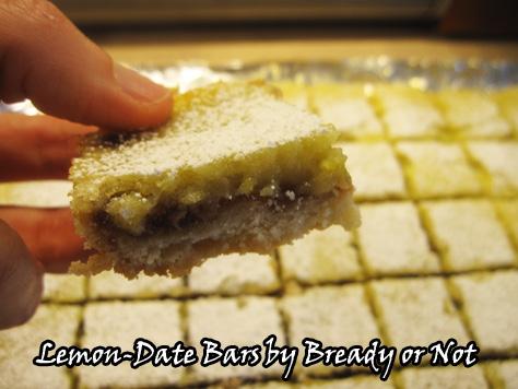 Bready or Not: Lemon-Date Bars