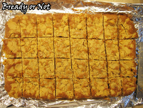 Bready or Not: Peanut Butter Ecstasy Bars