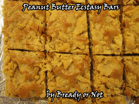 Bready or Not: Peanut Butter Ecstasy Bars
