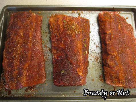 Bready or Not: Cato BBQ Rib Rub