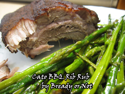 Bready or Not: Cato BBQ Rib Rub