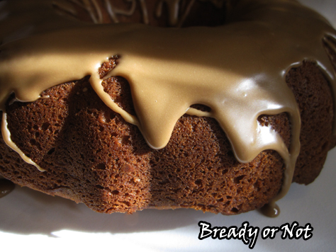 Bready or Not: Cinnamon Coffee Cake with Maple Glaze