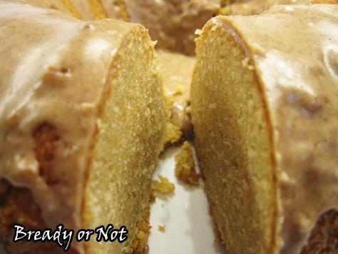 Bready or Not: Maple Sour Cream Bundt Cake