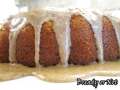 Bready or Not: Maple Sour Cream Bundt Cake