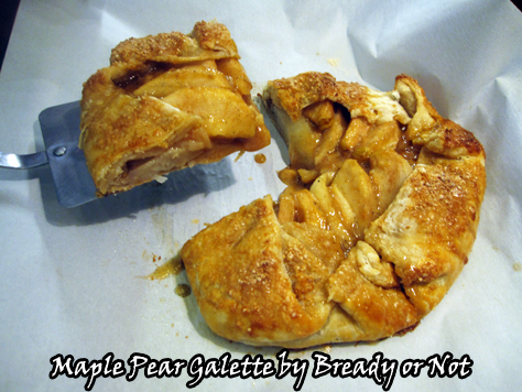 Bready or Not: Maple Pear Galette