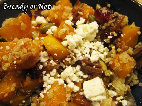 Bready or Not: Butternut Squash and Quinoa Salad