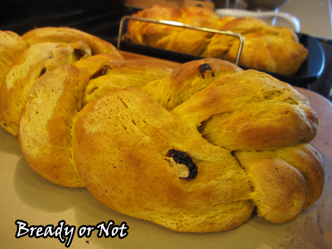 Bready or Not: Ginger Pumpkin Braided Bread