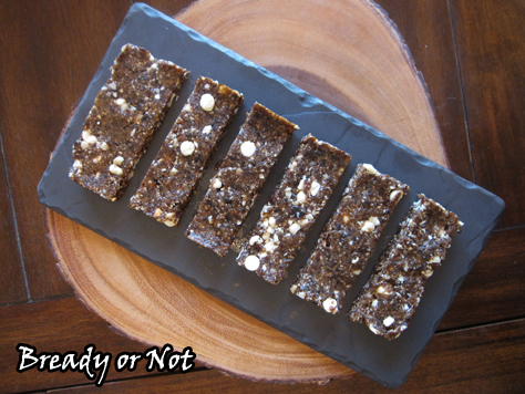 Bready or Not: No-Bake Maple Macadamia Nut Energy Bars (Gluten Free)