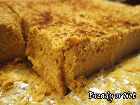 Bready or Not: Quick Cookie Butter Pumpkin Fudge