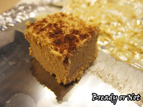 Bready or Not: Quick Cookie Butter Pumpkin Fudge