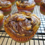 Bready or Not: Pumpkin Nutella Swirl Muffins