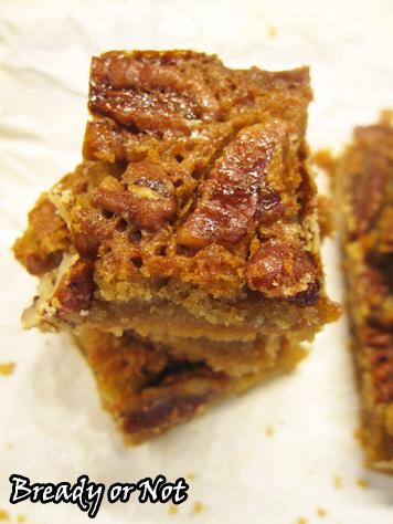 Bready or Not: Maple Pecan Pie Bars