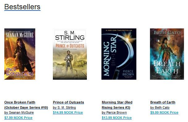 Nook Bestsellers