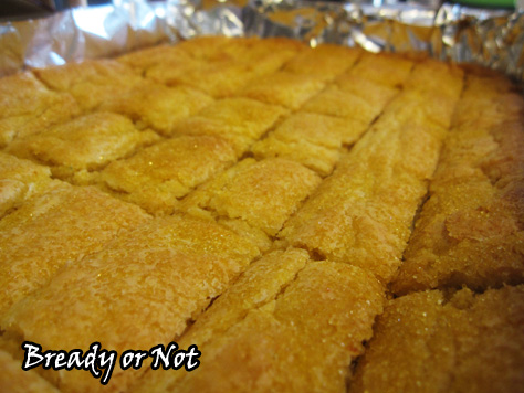 Bready or Not: Citrus Cornmeal Shortbread
