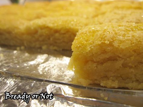Bready or Not: Citrus Cornmeal Shortbread