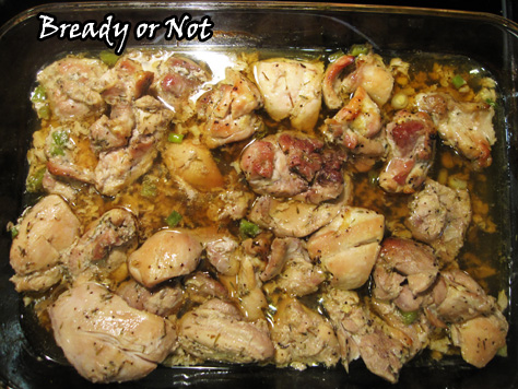 Bready or Not: Maple Chicken Thighs