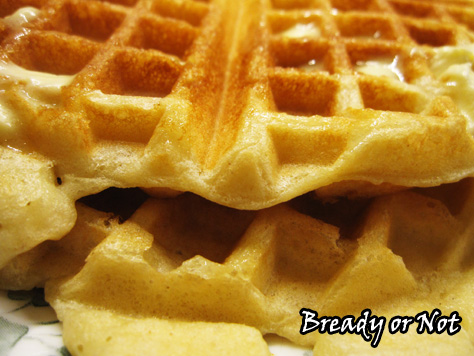 Bready or Not: Yeasted Waffles
