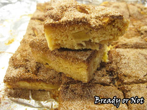 A Bready or Not Original: Apple Snickerdoodle Bars
