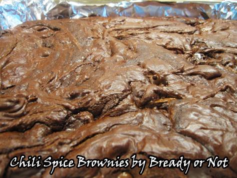 Chili Spice Chocolate Brownies